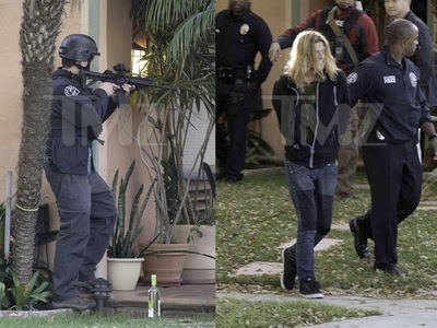 Puddle of Mudd Singer Wes Scantlin -- Assault Rifles Out In Police Standoff (PHOTOS)