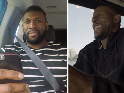 NBA's Festus Ezeli -- Pranked By Warriors ... 'You've Been Cut, Bro' (VIDEO)