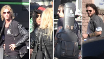 Guns N' Roses -- We're in the House! Well, Most of Us Are ... (VIDEO)
