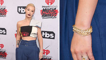 Iggy Azalea -- Ringing Endorsement for Sticking with Nick Young (PHOTOS)