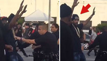 YG and Nipsey Hussle -- Cops Shut Down 'F*** Donald Trump' Video Shoot