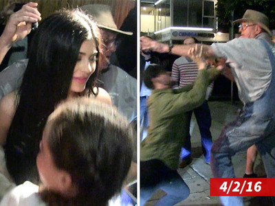 Kylie Jenner -- Brawling Grandpa Was Boozing ... Not Thirsty for Fame (VIDEO)