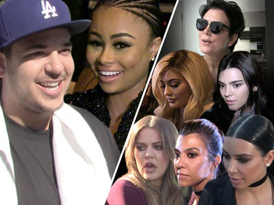 The Kardashians -- Radio Silent On Rob's Engagement
