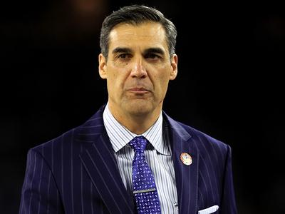 Villanova Coach Jay Wright -- I Beat UNC ... In A $4k Custom Suit!!!