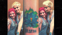 Paris Jackson -- This Tatt's for You Grandma (PHOTO)