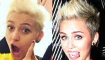 Paris Takes a Peace Out of Miley's Style  -- We're Just Sayin!