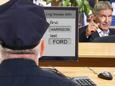 Harrison Ford -- Rookie Cop Mistake On 'Arrest' Record