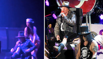 Axl Rose -- Check Out My New Wheels ... Down and Dirty at GNR Vegas Show