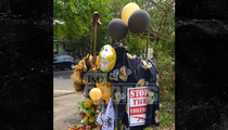 NFL's Will Smith -- Fans Create Makeshift Memorial ... At Scene of Shooting