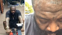 Rick Ross -- Down 60 Lbs But Still Gotta Have Them Wings (VIDEO)