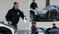 Pete Wentz -- Dude ... That's My Car!!! (PHOTOS)