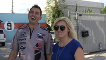 IndyCar Star & Famous Wife -- We're Keeping Sperm In Neutral ... Too Busy For Kids! (VIDEO)