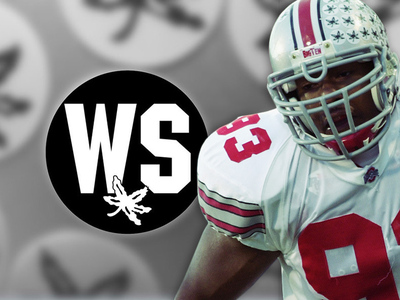 Ohio State Football -- Honoring Will Smith ... Helmet Decal & Moment of Silence