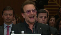 Bono -- Draft Chris Rock to Fight ISIS!! And That's Not Weirdest Part of Senate Speech (VIDEO)