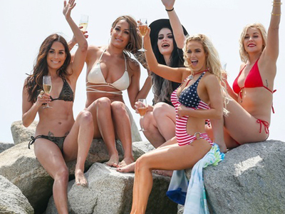 WWE 'Total Divas' -- Ditch the Ring ... For BikiniMania!!! (PHOTOS)
