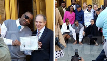 Rap Legend Slick Rick -- La Di Da Di, It's Time to Party ... I'm a U.S. Citizen! (PHOTOS)