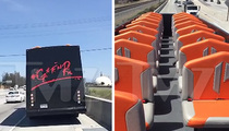 GNR -- Coachella-Bound Tour Bus Breaks Down (VIDEO)