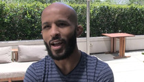 UFC's Demetrious Johnson -- I Send Poop Pics to My Wife ... Lemme Explain. (VIDEO)