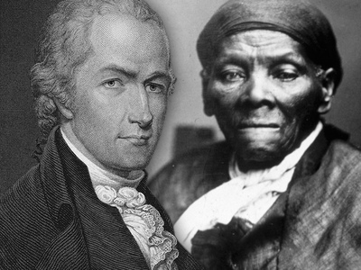 Alexander Hamilton -- Staying on $10 Bill! Harriet Tubman Booting Jackson Instead