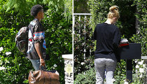 Nick Young & Iggy Azalea -- Who Let the Dog Out? (PHOTO)
