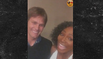 Serena Williams -- Fangirling with Tom Brady ... 'You're My Favorite!' (VIDEO)