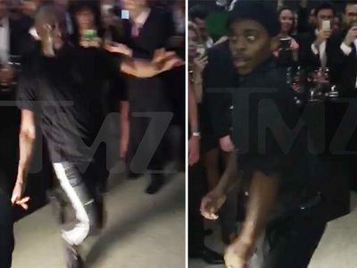 Wyclef Jean & Lil Buck -- Black Tie Event Calls For EPIC Dance Battle (VIDEO)
