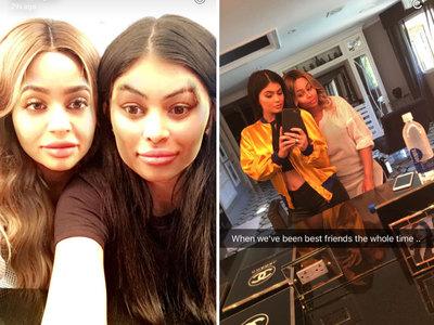 Kylie Jenner & Blac Chyna -- Gotcha!! Now Claim BFF Status (PHOTOS)