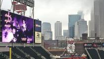 Minnesota Twins -- Purple Stadium Tribute ... To Honor Prince (PHOTO)
