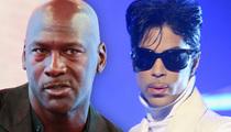 Michael Jordan -- Prince Inspired Me ... He Was a Genius