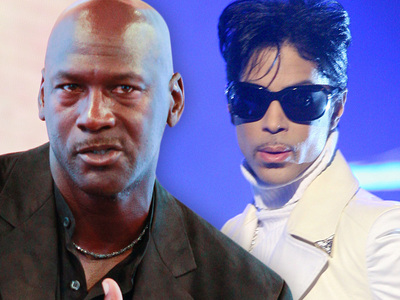 Michael Jordan -- Prince Inspired Me ... He Was a Genius