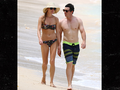 Rory McIlroy -- Hits Beach with Hot Fiancee (PHOTO)