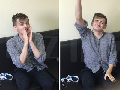 'Game of Thrones' -- Rare King Joffrey Sighting ... Bow And Watch Me Vogue!!! (VIDEO)