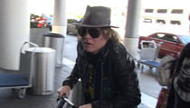 Axl Rose -- Flips the Switch ... I'm in AC/DC Mode Now! (VIDEO)