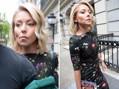 Kelly Ripa -- I'm Not Looking Forward to This (PHOTOS)