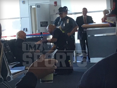 Ric Flair -- Treated at Boston Airport ... After Bizarre Behavior (UPDATE)
