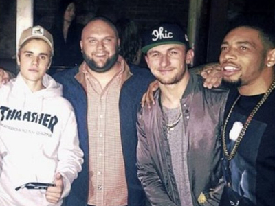Johnny Manziel -- Hits Bieber Concert In CLE ... Hours After Grand Jury Indictment