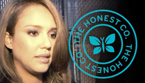 Jessica Alba -- Honest Organic Baby Food Sued ... It Ain't So Organic