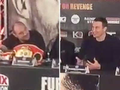 Wladimir Klitschko -- Tyson Fury Is Raging Sexist Homophobe ... 'F*** YOU'