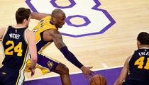 Kobe Bryant -- Hardwood From Final Game ... Hits Auction Block