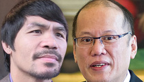 Manny Pacquiao -- Targeted by Terrorists ... Says Philippines Prez