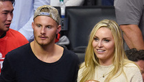 Lindsey Vonn -- 2nd Date with 'Vikings' Star ... Finally More than Friends?