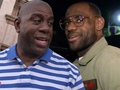 Magic Johnson -- Lakers Should Go After LeBron