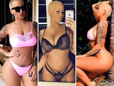 45 Sexy Photos of Amber Rose -- Happy Muva's Day!