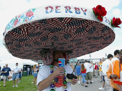 Crazy Caps In Kentucky -- Happy Derby Day!