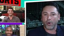Oscar De La Hoya -- Slams Trump's Taco Salad (VIDEO)