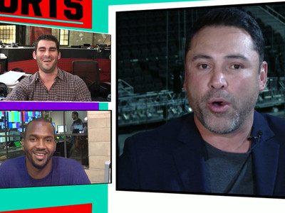 Oscar De La Hoya -- Slams Trump's Taco Salad (VIDEO)
