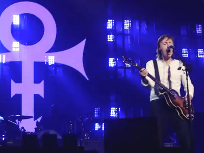 Paul McCartney -- Let's Go Crazy-ish on Prince's Turf (VIDEO)