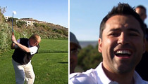 Oscar De La Hoya -- Praised Trump as 'Great Golfer' ... Smoking Gun Video