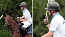Prince Harry -- Royal Polo Salute ... Someone's #1 (PHOTO)