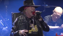 Axl Rose -- First Performance with AC/DC